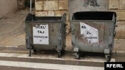 Plakati nakon izbora u Mostaru 2008, zbog čekanja na izbor gradskih vlasti