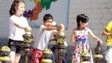 Kyrgyzstan - Children's Day, Children, Holiday. Kyrgyzstan, Bishkek, June 1, 2017