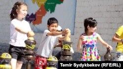 Бишкектеги Балдар күнү. 1-июнь, 2017-жыл.