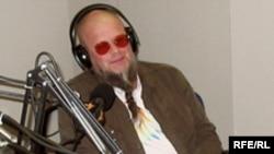 Борис Гребенщиков в студии Радио Свобода в Праге