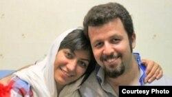 مهدیه گلرو، نایب پیشین دبیر انجمن اسلامی دانشگاه علامه و همسرش وحید لعلیپور.