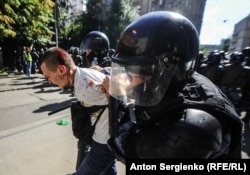 Задержания 27 июля в Москве