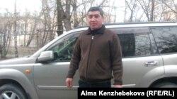 Житель Алматы Ербол Байменов. 9 апреля 2014 года.
