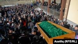 Похорони Решата Аметова, Сімферополь, 18 березня 2014 року