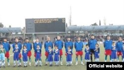 Futbol üzrə Azərbaycan millisi. Şəkil: AFFA