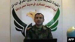 Представитель Сирийской свободной армии Гасем Саадеддин, Хомс, 31 мая 2012