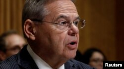 U.S. Senator Bob Menendez (Democrat-New Jersey) said additional sanctions on Russia could adversely affect U.S. businesses and investors in Russia.
