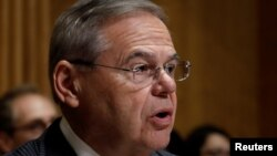 Democrat Senator Bob Menendez