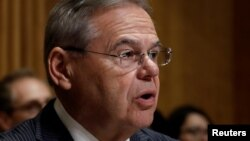 Democratic Senator Bob Menendez: 'One thing is increasingly clear: Moscow will continue to push until it meets genuine resistance.'