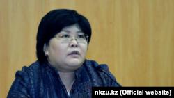 Эльвира Азимова в бытность заместителем министра юстиции.