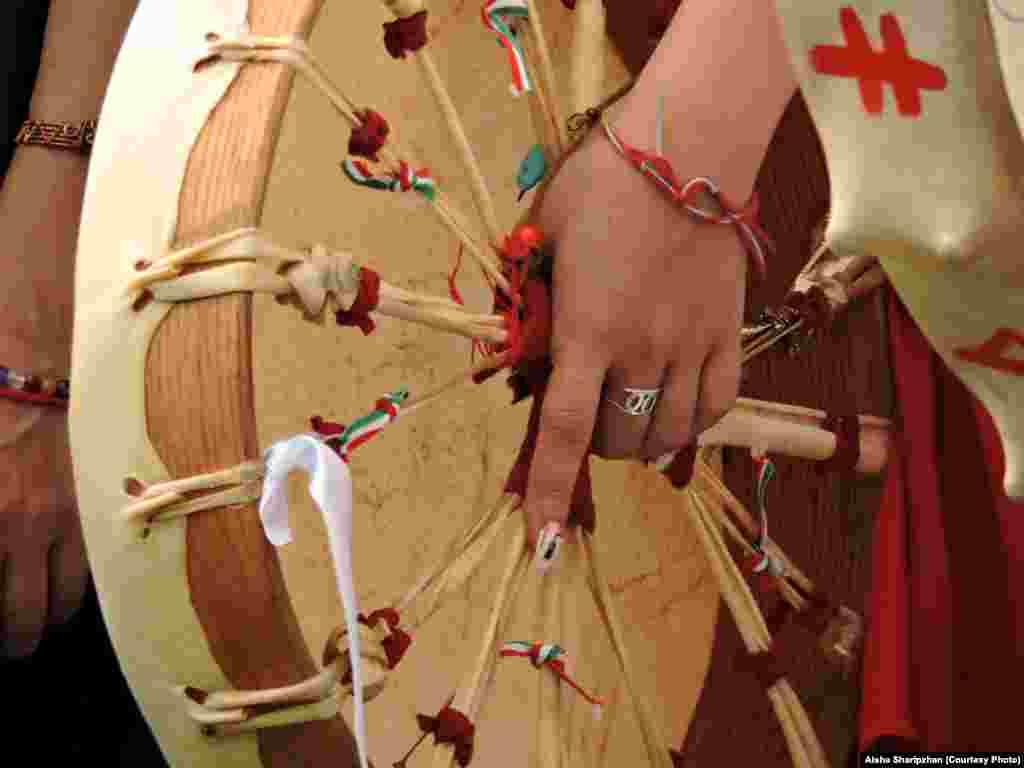 AHungarian shaman's drum
