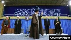 علی خامنهای در جمع مقامات عالی جمهوری اسلامی