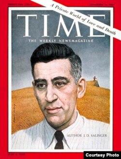 Сэлинджер в зените своей славы. Обложка номера журнала Time oт 15 сентября 1961 года. Художник Роберт Викри.