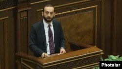 Спикер НС Арарат Мирзоян (архив)