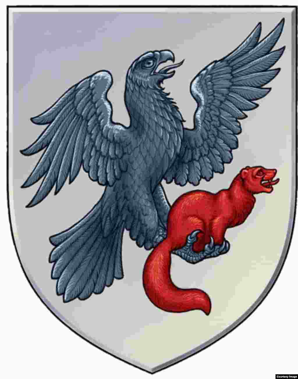 The flag of Yakutsk is kinda lame, but its coat of arms is thankfully different, showing a fierce eagle holding a proud sable. That's one of the more historical ones, as it was first approved by Catherine II in 1790.