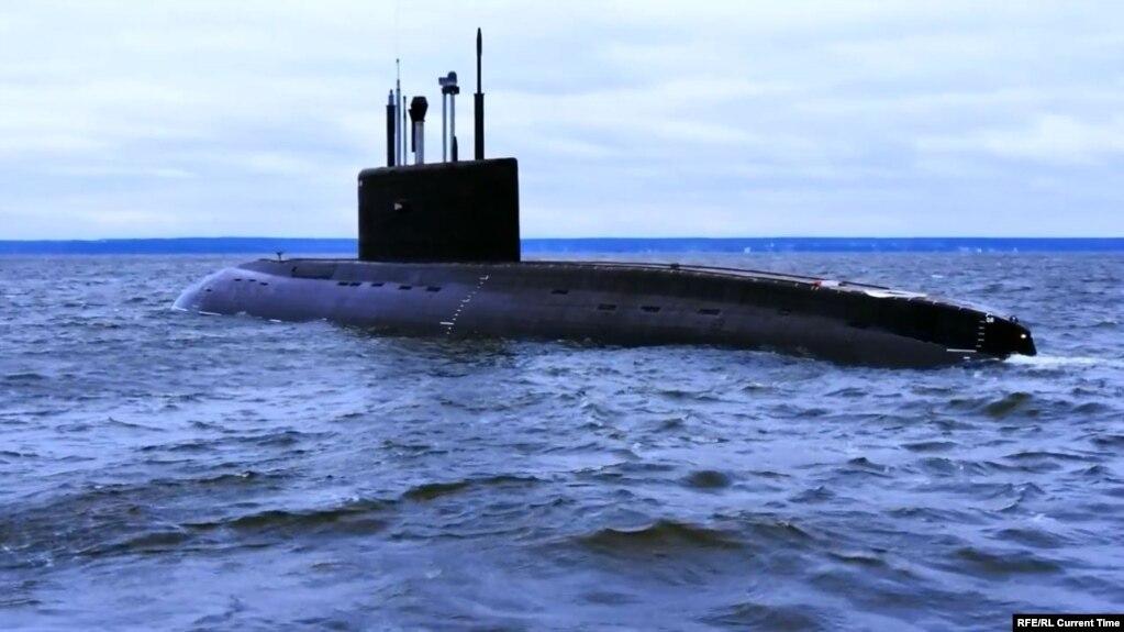 местонахождение подводной лодки ростов-на-дону