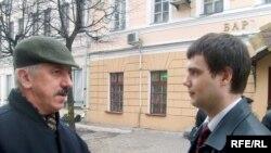 Няўдачнікі выбарчай кампаніі — Уладзімер Новікаў (леваруч) і Андрэй Дзьвігун (праваруч)