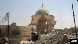 بازپس گیری مسجد ۸۵۰ ساله «نوری» پیروزی نمادین برای نیروهای عراقی به شمار میرود.