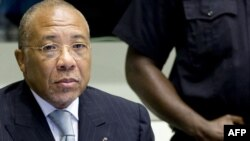 Либерияның бұрынғы президенті Чарльз Тейлор.