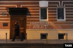 """Офис центра """"Мемориал"""", ноябрь 2012 года"""