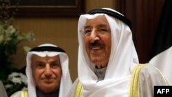 Sabah al-Ahmad al-Sabah (desno)