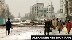 Грозный, февраль 1996 года