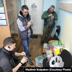 Владимир Колпаков и его коллеги