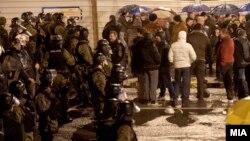 """Протест на граѓани незадоволни од постапките на обвинитетите во акцијата """"Пуч"""""""