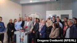 Odbornici Srpske napredne stranke u Skupštini Niša