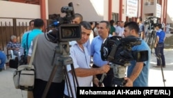 صحفيون واعلاميون في الموصل