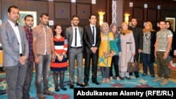 مشاركون في برنامد تبادل القيادات الشابة
