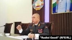 Кудратулло Назарзода, начальник УМВД по Согдийской области