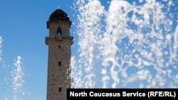 Башня Согласия в Магасе, Ингушетия, иллюстративное фото