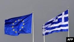 Flamuri i BE-së dhe i Greqisë, foto nga arkivi