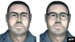 A composite portrait of the suspected accomplice of a man who blew himself up near a bus packed with Israeli tourists at Burgas airport.
