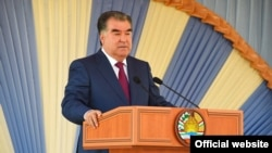 Tajikistan -- Tajik President Emomali Rahmon will be able to be reelected indefinitely if he is successful in an upcoming referendum. Journalists and media watchdogs say pressure on independent journalists has intensified in the run-up to the May 22 vote. April 22, 2016.