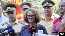 Министерката Радмила Шекеринска на Отворениот ден со граѓаните по повод Денот на АРМ