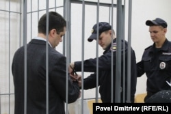 Кузнецов в зале суда