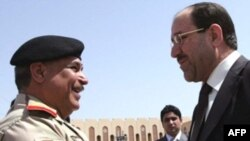 نوری المالکی با توقف طرح عقب نشینی نیروهای آمریکایی از عراق مخالفت کرده است.(عکس: AFP)