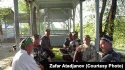 Кіргіскія уйгуры. Ілюстрацыйнае фота