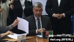 اسدالله حنیف بلخی وزیر معارف افغانستان
