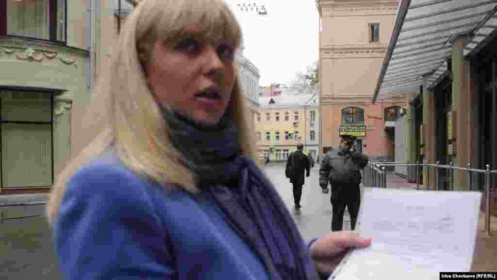 Жительница дома во Внуково Павлина Марченко