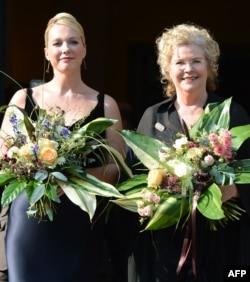 Germany - Katharina Wagner și Eva Wagner-Pasquier, directoarele Festivalului la Bayreuth în 2012
