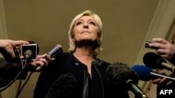 Kandidatja e ekstremit të djathtë për presidente të Francës, Marine Le Pen.
