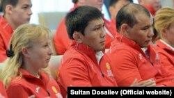 Кыргызстандын олимпиада курамы.