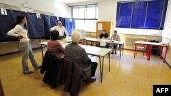 Избирательный участок в Милане