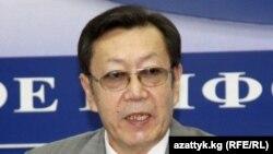 Бусурманкул Табалдиев, новый председатель ГКНБ Кыргызстана.