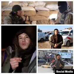 Представляющийся на видеозаписи именем Абу Худайфа молодой человек.