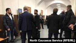 В здании Басманного районного суда, 13 ноября 2019 г.