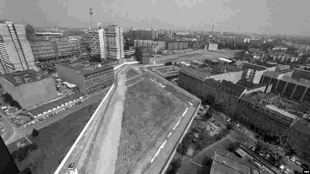 Разделенный Берлин в 1986 году